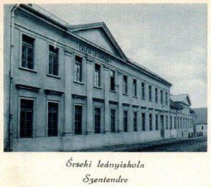 Érseki leányiskola, Szentendre